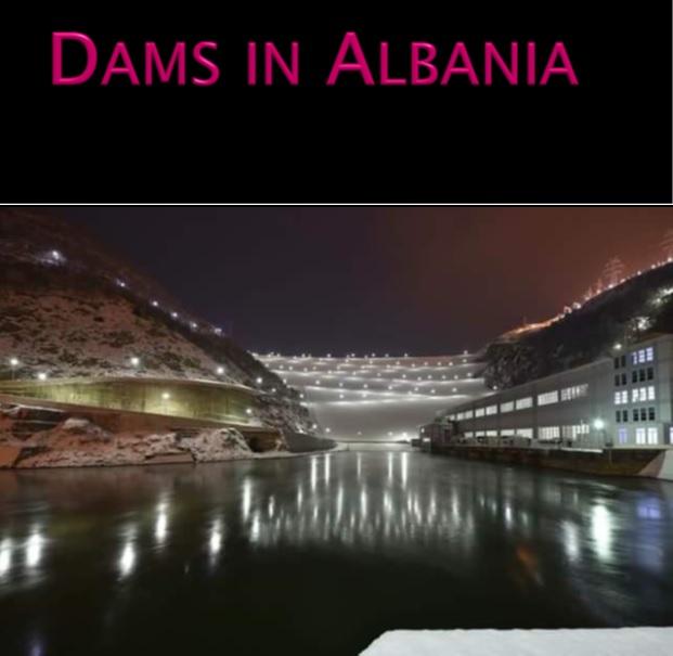 dams in albania